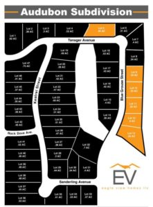audubon estates lot map, vacant land for sale valparaiso, lots for sale, new homes for sale in valparaiso,